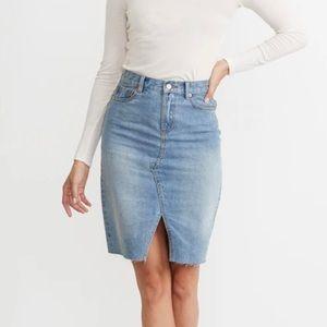 Marine Layer Celine Midi Skirt
